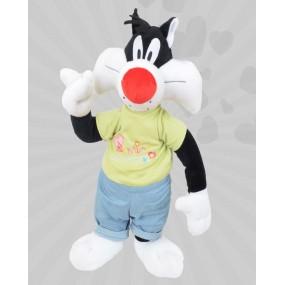 Peluş Sylvester Tişörtlü Pantolonlu (Orta Boy)